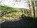 SE0520 : Stile on footpath to Wood Royd, Barkisland by Humphrey Bolton
