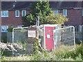 NZ3167 : Protected ruin, Churchill Street by Richard Webb