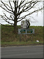 TM0481 : Roadsigns on the A1066 Diss Road by Adrian Cable