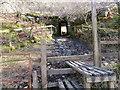 NN3233 : West Highland Way crosses the railway line via the underpass by John Ferguson