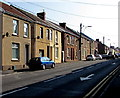 SN5200 : Houses and satellite dishes, Pemberton Road, Llanelli by Jaggery