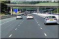 SE2921 : Northbound M1, Park Mill Lane Bridge by David Dixon