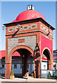 NM8530 : North Pier clock tower, Oban (March 2016) by The Carlisle Kid