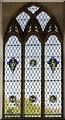 SS3102 : East window, St Swithin's church, Pyworthy by Julian P Guffogg