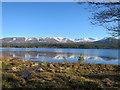 NH9609 : Loch Morlich by Anne Burgess