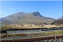 SH5752 : View from Rhyd-Ddu station by Richard Hoare