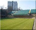 TQ2472 : Court 18 at Wimbledon by Paul Gillett