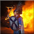 HP6514 : The Guiser Jarl at Norwick Up Helly Aa 2016 by Mike Pennington