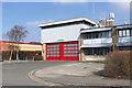 SP4914 : Kidlington fire station by Alan Hunt