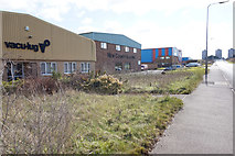 SE8912 : Businesses on Bessemer Way, Scunthorpe by Ian S