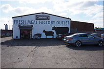 SE8912 : Crawshaws Fresh Meat Factory Outlet by Ian S