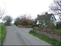 TM4883 : Falcon Inn Road by Keith Evans