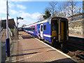 NS5669 : Maryhill railway station by Thomas Nugent