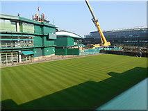 TQ2472 : Court 19 Wimbledon by Paul Gillett