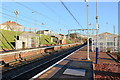 NS7063 : Sunny Skies At Bargeddie Railway Station by James Anderson
