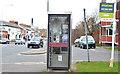 J3272 : Telephone box, Lisburn Road, Belfast - March 2016(2) by Albert Bridge