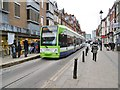 TQ3265 : Croydon, George Street Tram Stop by Mike Faherty