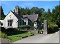 SH5571 : Lodge to Treborth Hall by Eirian Evans