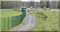 J2564 : Foot and cycle path, Laurelhill, Lisburn - March 2016(2) by Albert Bridge
