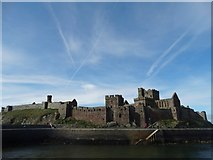 SC2484 : A view of Peel Castle by Neil Theasby