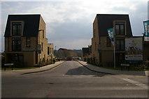 TQ2495 : New houses on Hera Avenue, Barnet by Christopher Hilton
