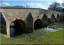 SP9599 : Wakerley Road Bridge crossing the River Welland by Mat Fascione