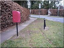 TL8364 : Path beside Westley Road by JThomas