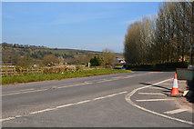 ST0104 : Mid Devon : The B3181 by Lewis Clarke