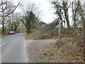 TQ2129 : Bridleway junction with Hammerpond Road by Shazz