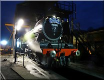 NZ8204 : Flying Scotsman under the coaling stage by DS Pugh