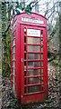 SX6773 : Telephone Kiosk at Badgers Holt by PAUL FARMER