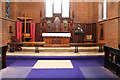 TQ4887 : St Chad, Chadwell Heath - Chancel by John Salmon