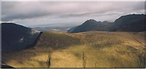 SH6261 : Foel Goch from the slopes of Elidir Fawr by Eric Jones
