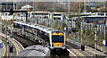 J3373 : Train, Gt Victoria Street, Belfast (March 2016) by Albert Bridge