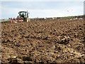 SW6744 : Ploughing a field by Philip Halling