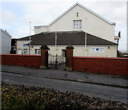 SS5798 : Loughor Welfare Hall by Jaggery