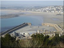 SW5130 : The harbour of St Michael's Mount by David Smith