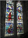 SW5129 : Memorial window in the chapel, St Michael's Mount by David Smith