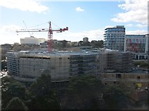 SZ0891 : Bournemouth: West Central complex under construction by Chris Downer