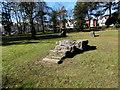 SS5898 : Gorsedd stone in Argyll Gardens, Gorseinon by Jaggery