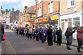 SP9211 : Good Friday in Tring (4) The Procession following the Cross by Chris Reynolds