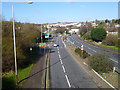 SK5807 : Leicester outer ring road, A563 by Robin Webster