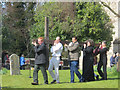 SP9211 : Good Friday in Tring (7) The Cross arrives by Chris Reynolds
