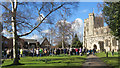 SP9211 : Good Friday in Tring (9) Service around the Cross by Chris Reynolds