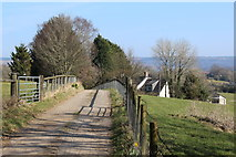 ST1897 : Track to Penmaen Farm by M J Roscoe