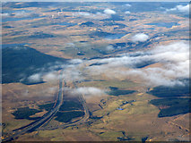 NS4947 : The M77 and A77 from the air by Thomas Nugent
