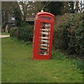 TL1460 : Phone box book library by Dave Thompson