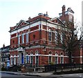 TQ2785 : Hampstead Town Hall, Haverstock Hill, London NW3 by Julian Osley