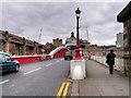 NZ2563 : River Tyne Swing Bridge (Bridge Street) by David Dixon
