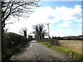 TM1455 : Entering Coddenham on Stone Street by Adrian Cable